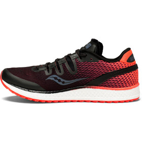 2ea09f19c68 saucony Freedom ISO - Chaussures running Femme - rouge noir
